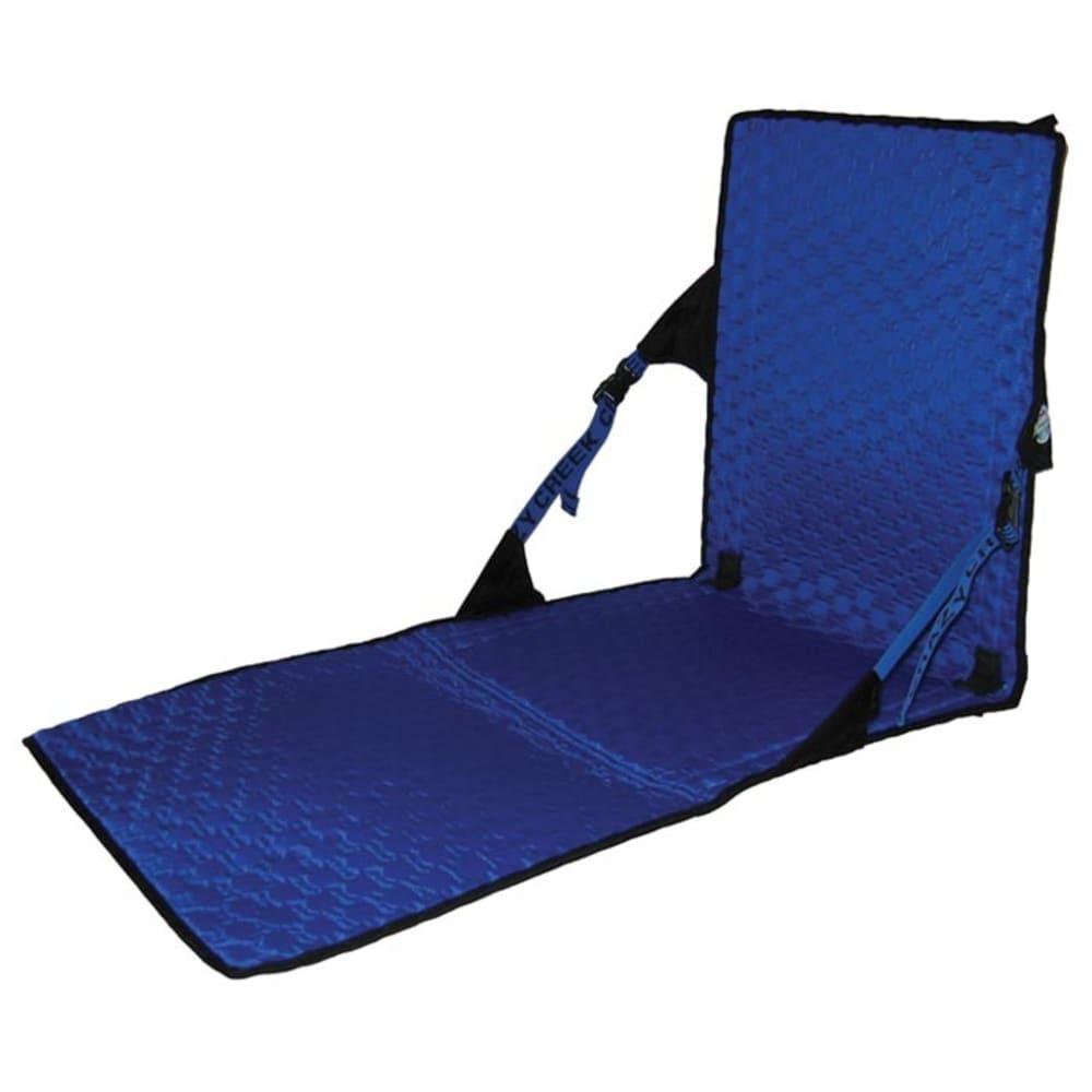 Crazy Creek Unisex Hex 2.0 Powerlounger Chair, Black/royal - Black