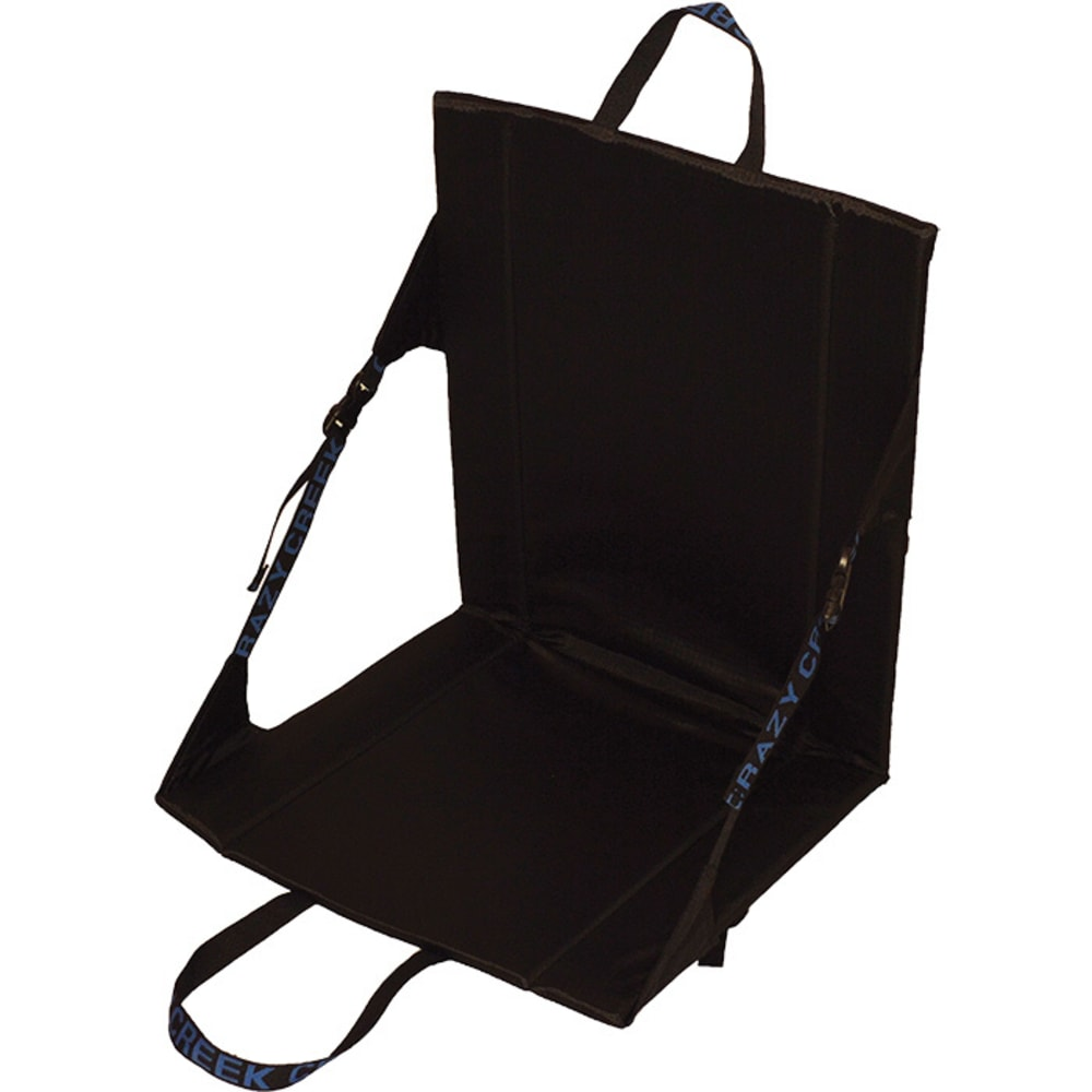 CRAZY CREEK Unisex Longback Chair, Black - BLACK