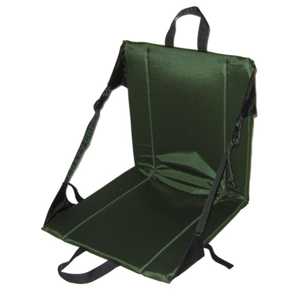 CRAZY CREEK Unisex Original Chair, Black - FOREST GREEN
