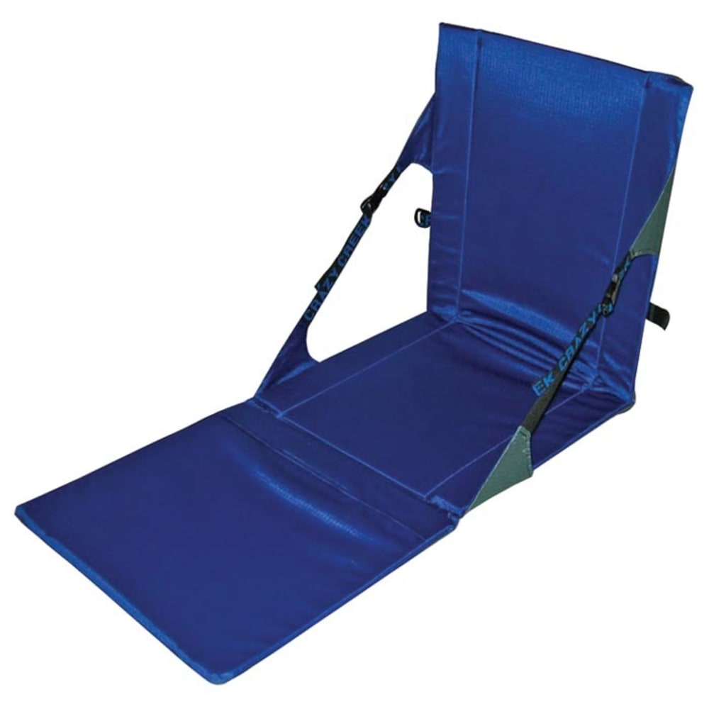 Crazy Creek Unisex Powerlounger Chair, Grey/royal - Black