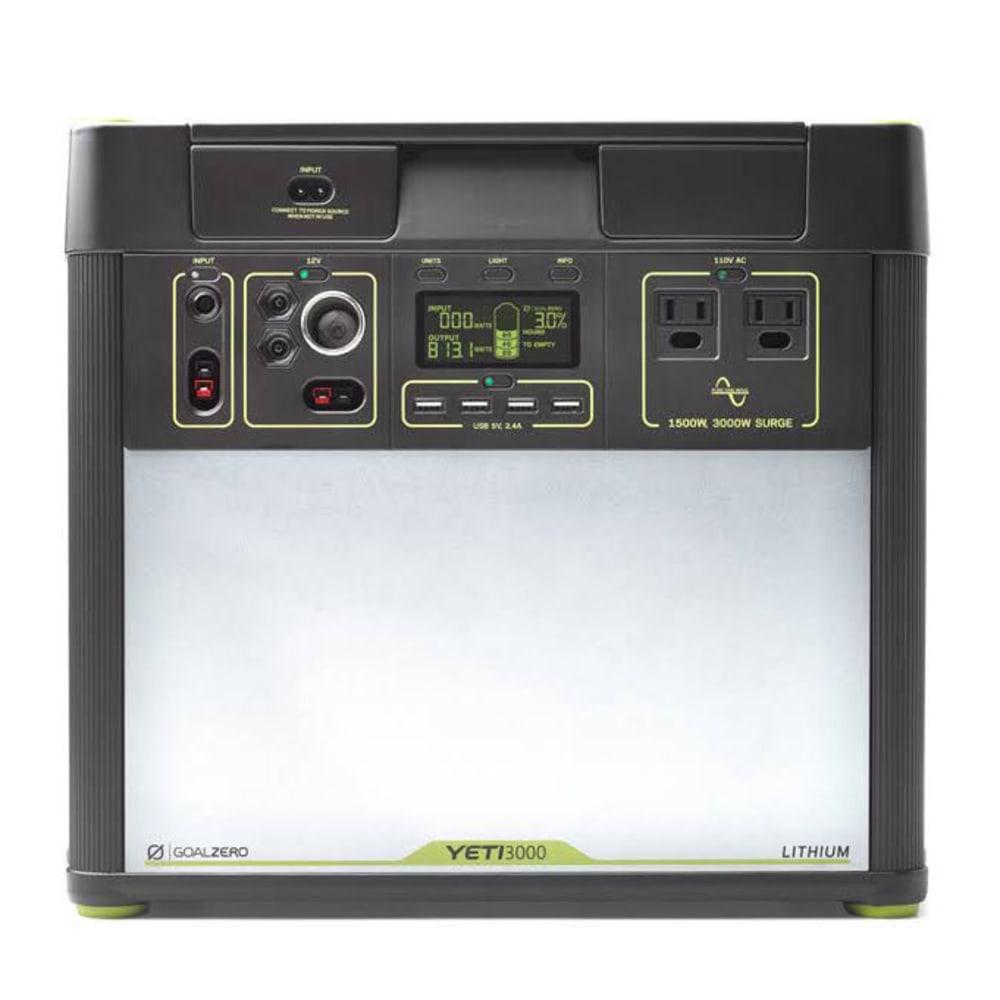 GOAL ZERO Yeti 3000 Lithium Portable Power Station - NO COLOR