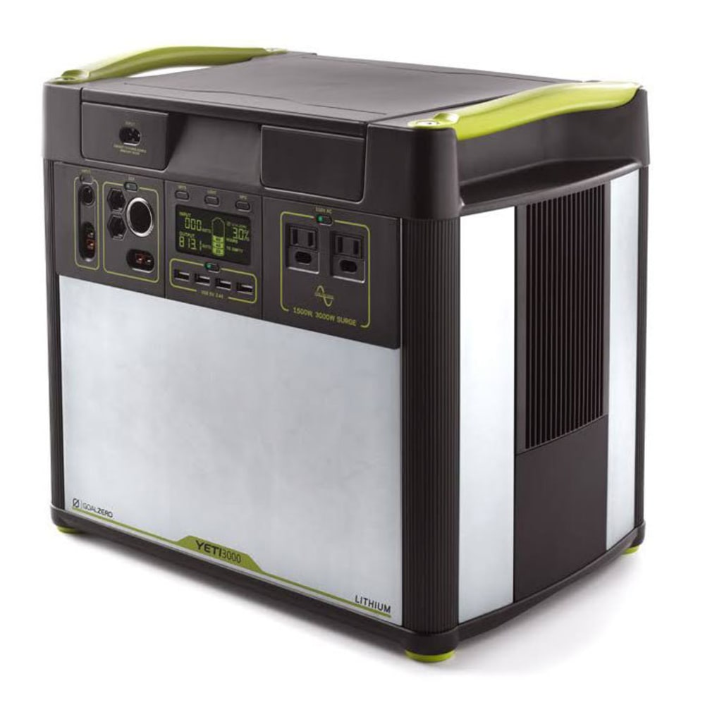 GOAL ZERO Yeti 3000 Lithium Portable Power Station - NO COLOR