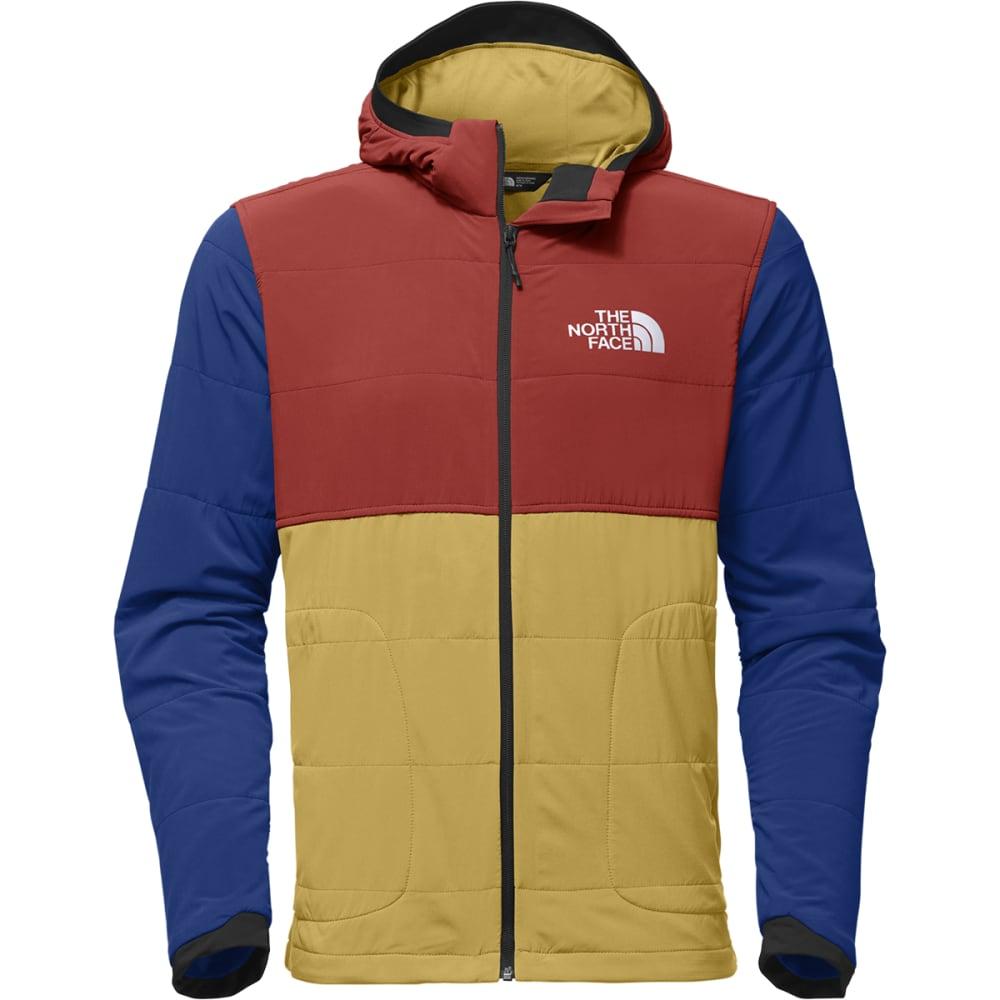 THE NORTH FACE Men's Mountain Sweatshirt Full-Zip Hoodie - 3GU-OLIVENITE YELLOW