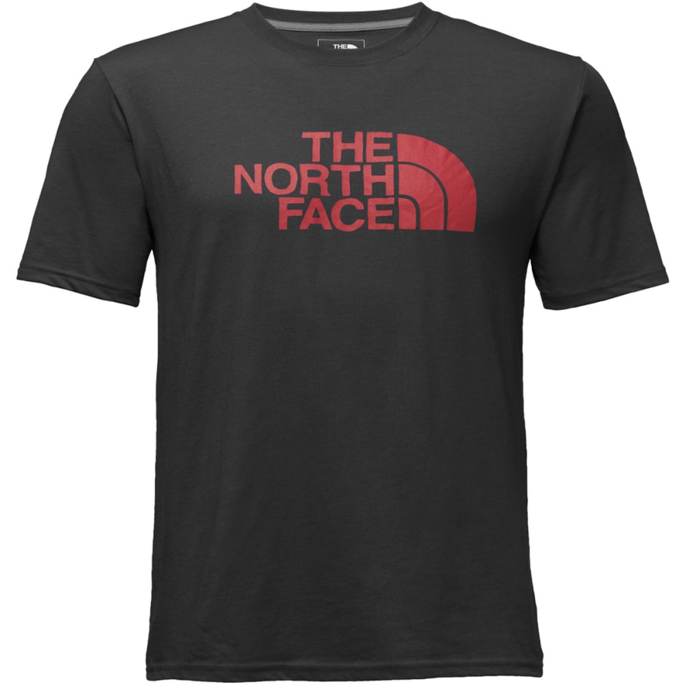 THE NORTH FACE Men's Bottle Source Logo Short-Sleeve Tee Shirt - ZLY-WEATHERED BLACK