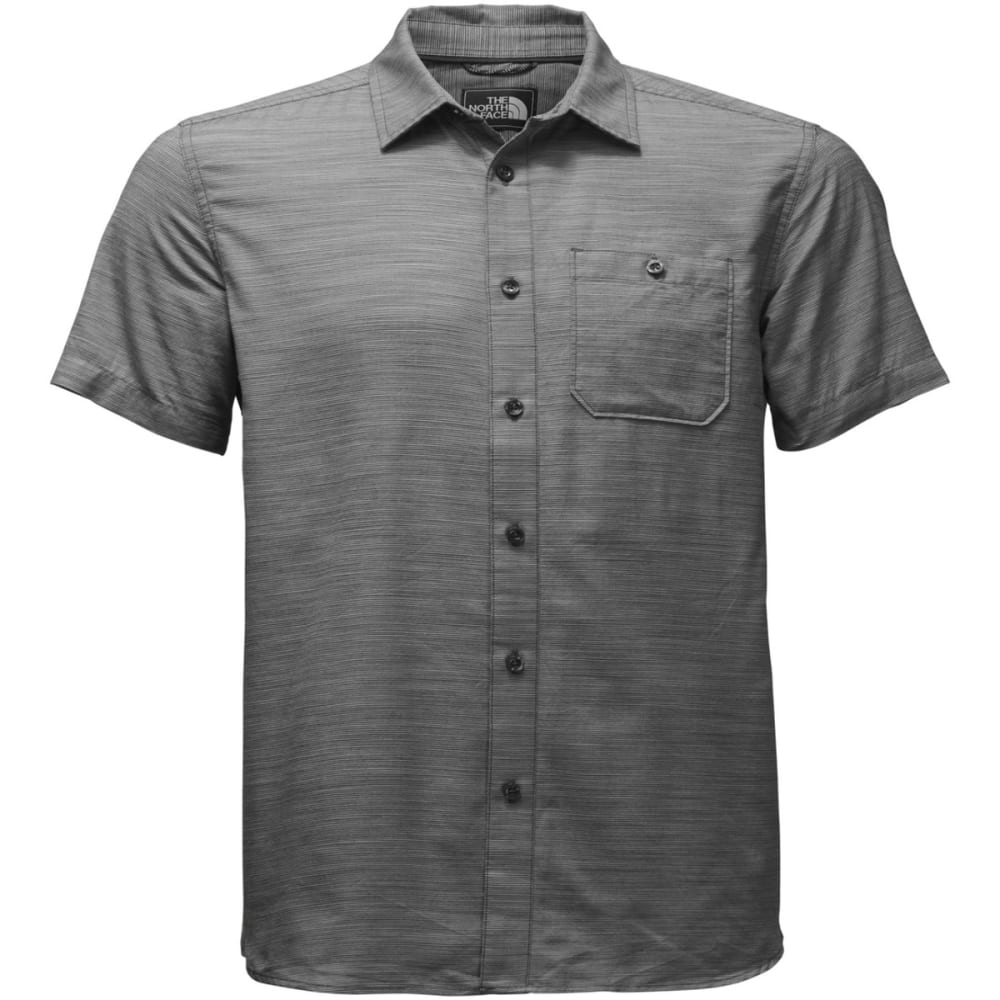 THE NORTH FACE Men's Baker Short-Sleeve Shirt - 0C5-ASPHALT GREY