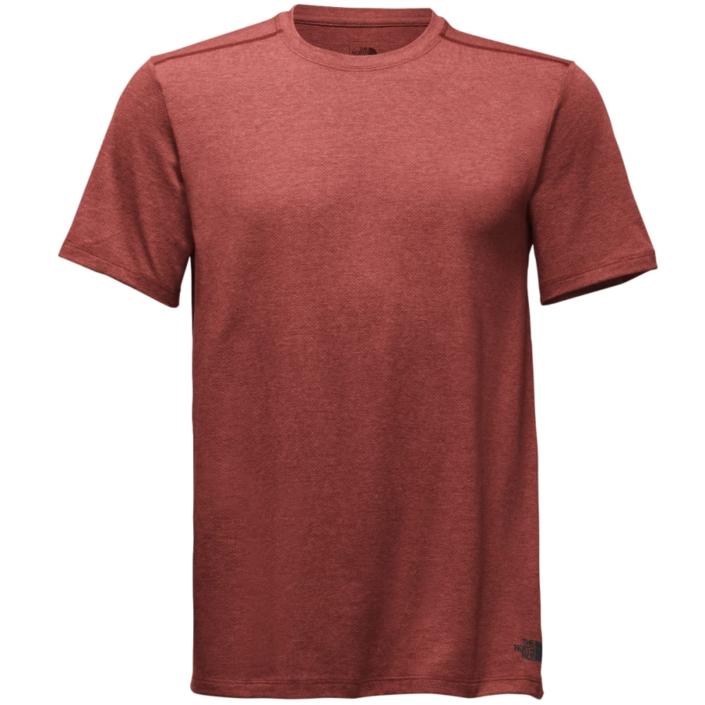 THE NORTH FACE Men's Day Three Tee Shirt - 1LH-BSA NOVA RED HTR