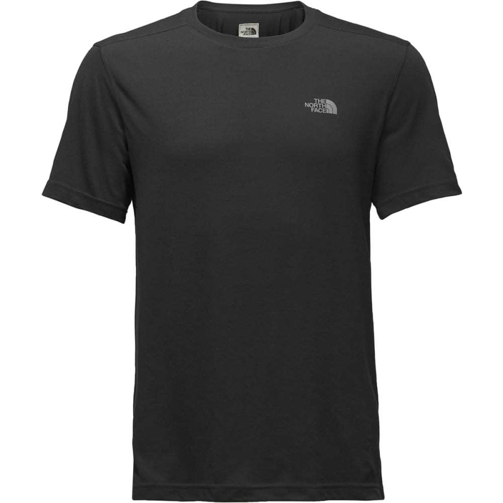 THE NORTH FACE Men's Crag Crew Short-Sleeve Tee - ZLY-WEATHERED BLACK
