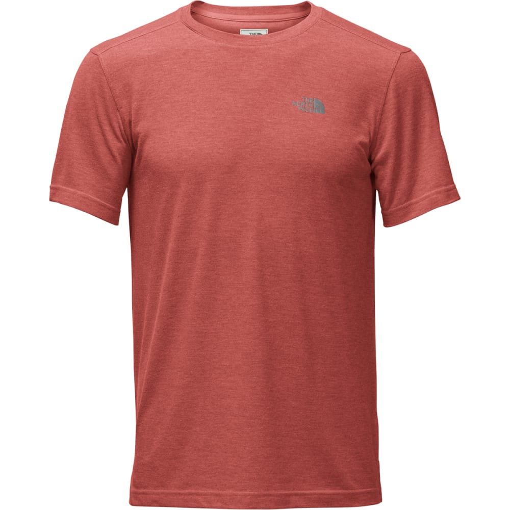 THE NORTH FACE Men's Crag Crew Short-Sleeve Tee - 1LH-BOSSA NOVA RD HT
