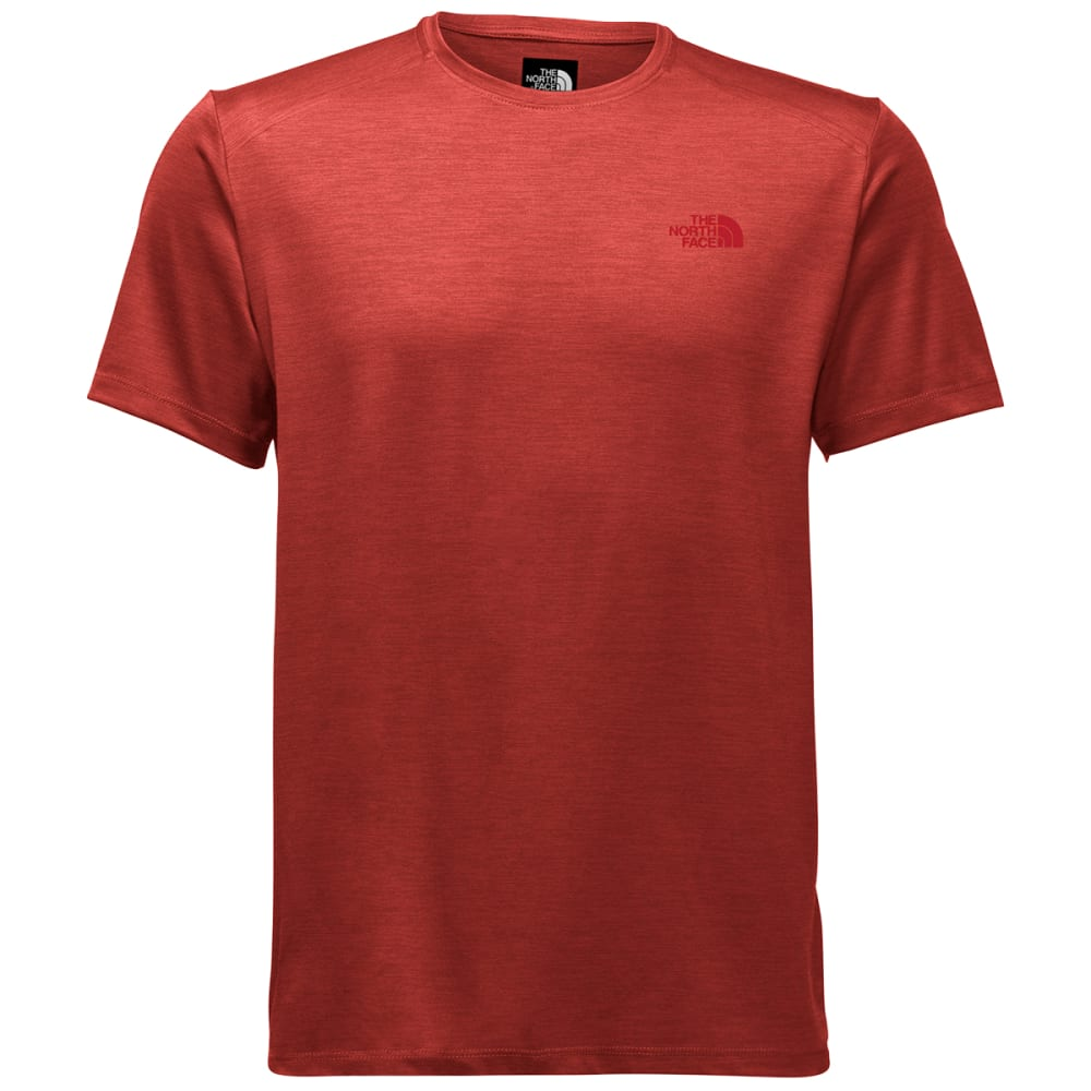 THE NORTH FACE Men's Hyperlayer FD Crew Short-Sleeve Tee - HSH-HIGH RISK RD HTR