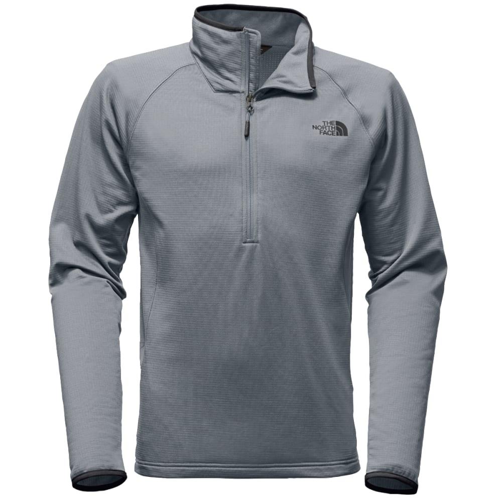THE NORTH FACE Men's Borod ¼ Zip Pullover - V3T-MID GREY