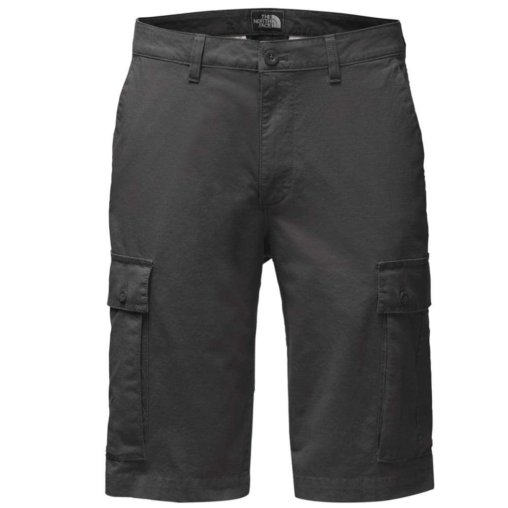 THE NORTH FACE Men's Rock Wall Cargo Shorts - 0C5-ASPHALT GREY