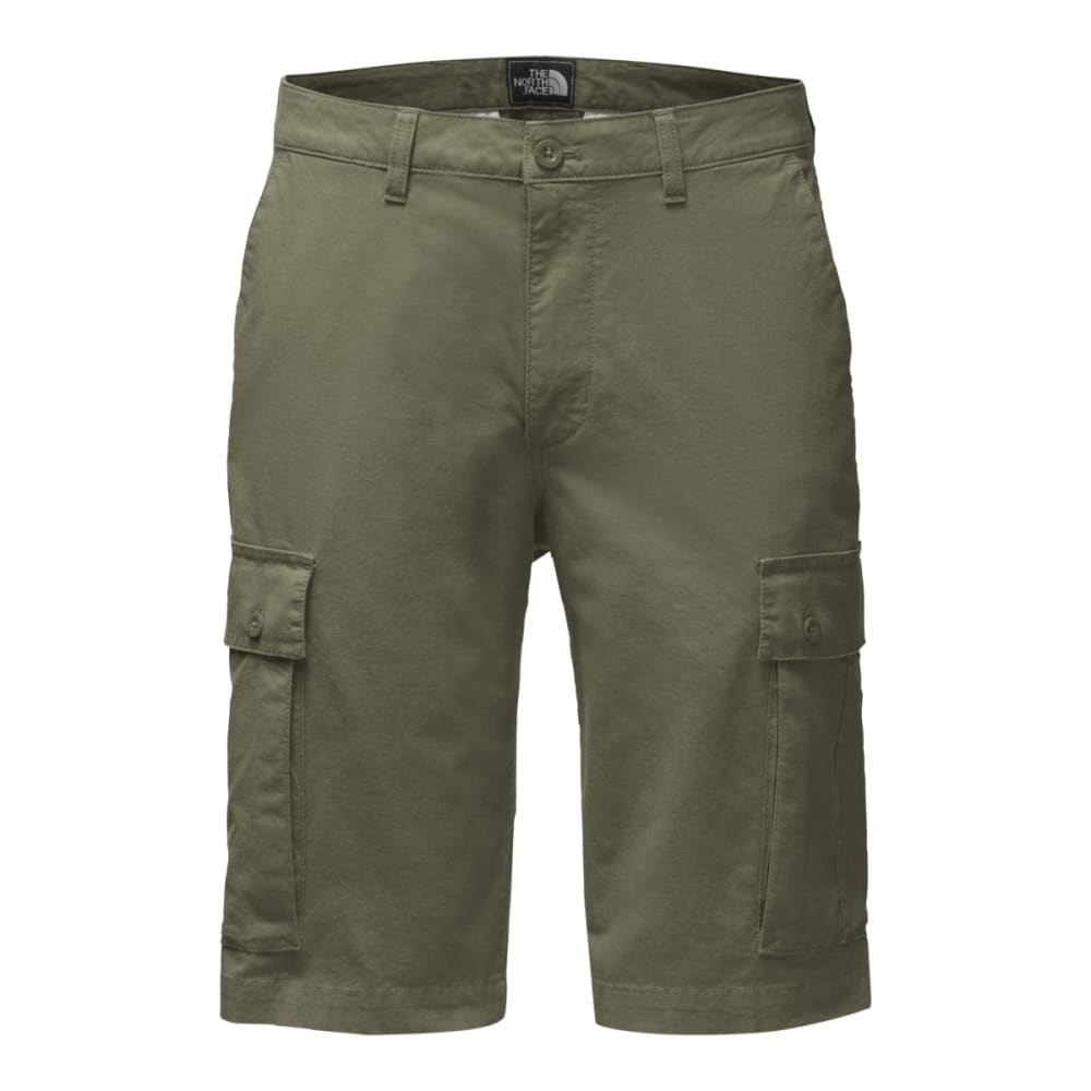 THE NORTH FACE Men's Rock Wall Cargo Shorts - ZCE-FOUR LEAF CLOVER