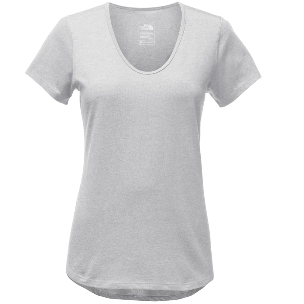 THE NORTH FACE Women's Day Three Short-Sleeve Top - DYX-TNF LGHT GRY HTR