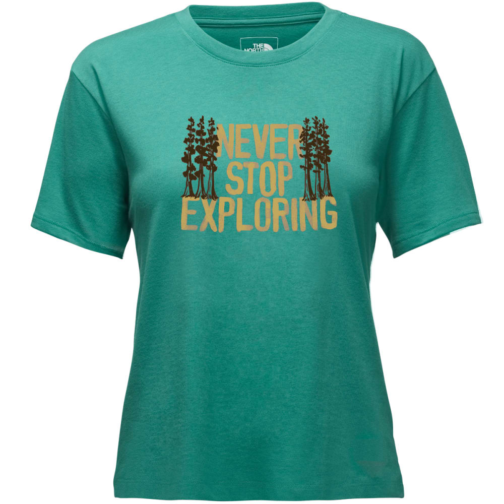 THE NORTH FACE Women's Short-Sleeve Bottle Novelty Tee XS