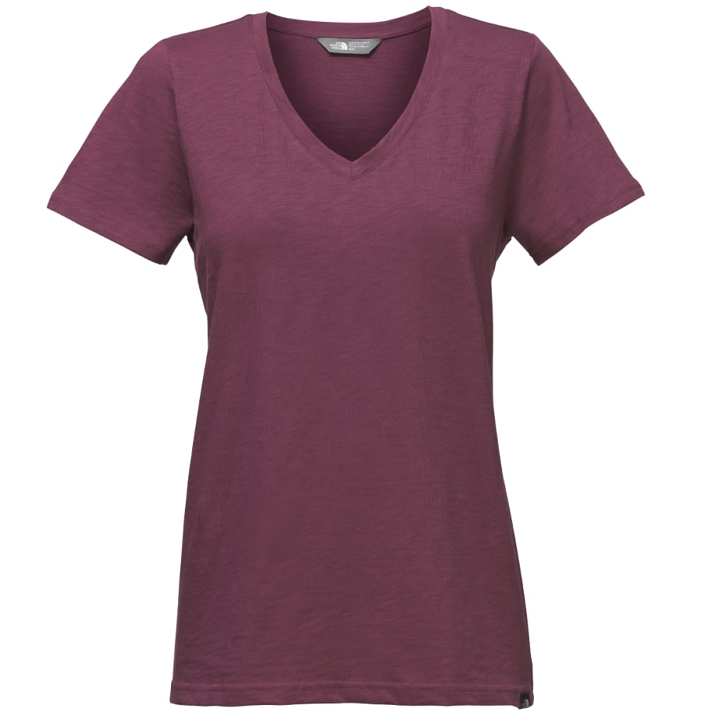 THE NORTH FACE Women's Short-Sleeve Sand Scape V-Neck Tee - ZBW-CRUSHED VIOLETS