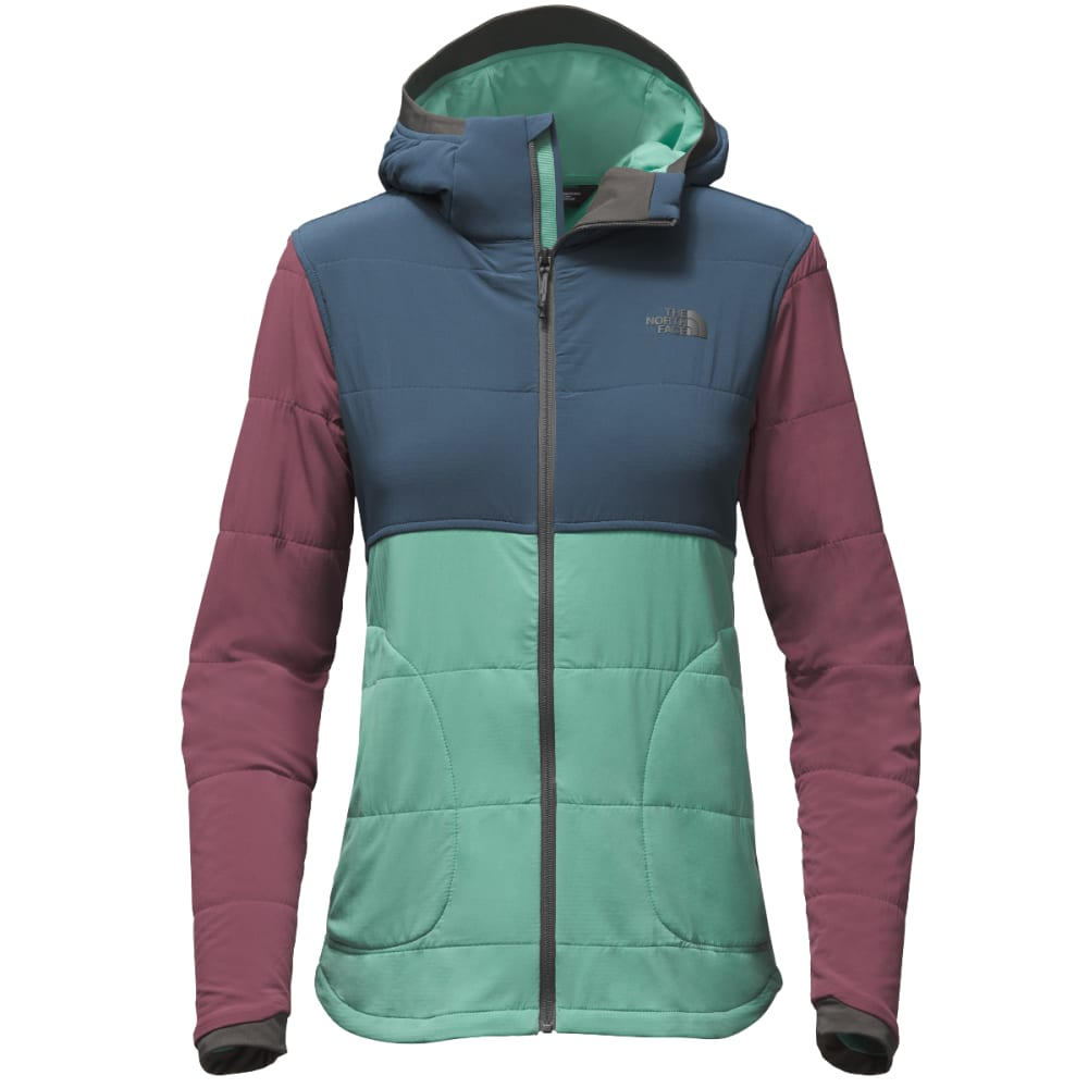 THE NORTH FACE Women's Mountain Sweatshirt Full Zip Jacket - 4MS-BRISTOL BLUE MUL