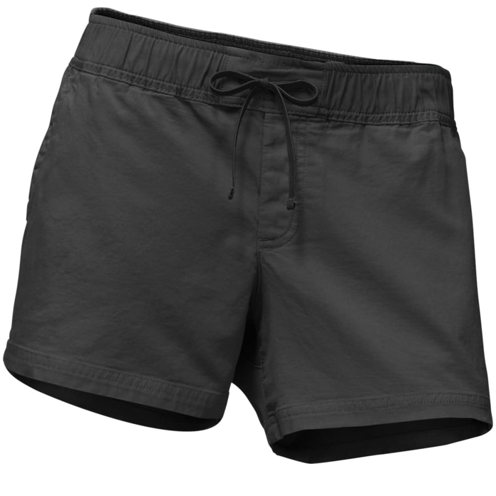 THE NORTH FACE Women's Basin Shorts - ZLY-WEATHERED BLACK