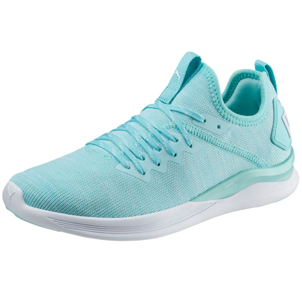 PUMA Women's IGNITE Flash evoKNIT Running Shoes - ISLAND PARADISE - 07