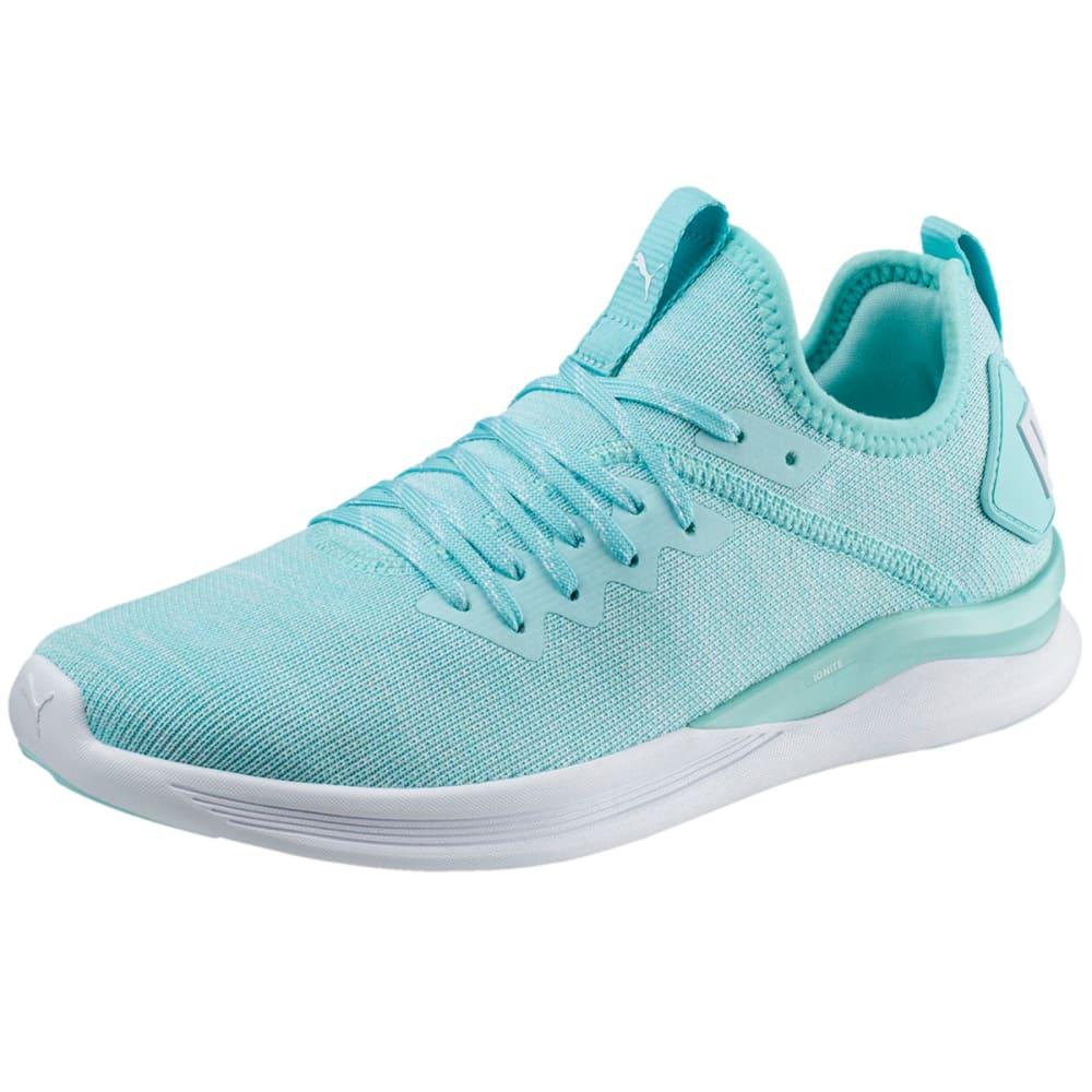 Puma Womens Ignite Evoknit Easter Running Shoes Aruba Blue