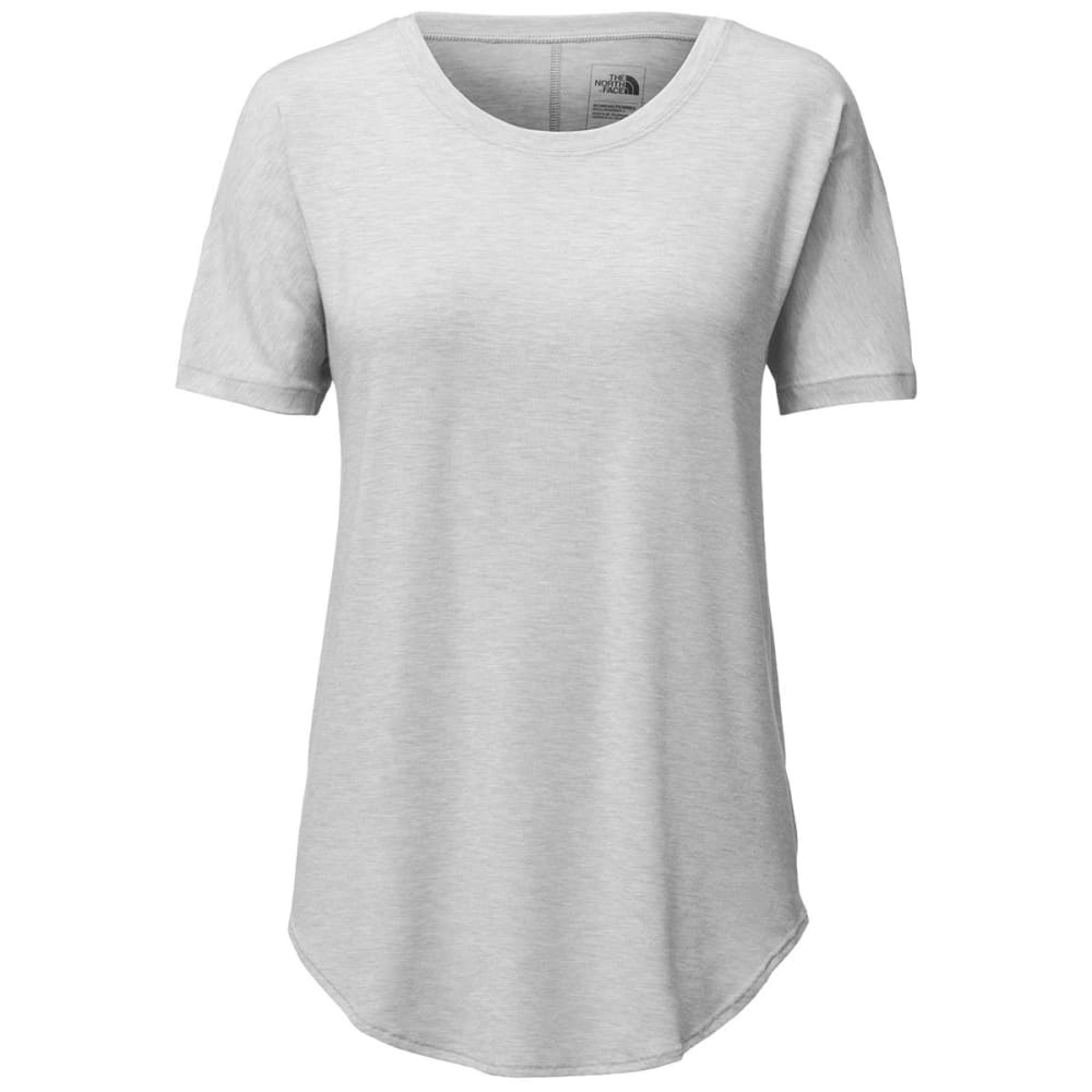 THE NORTH FACE Women's Workout Short-Sleeve Tee - DYX-TNF LT GRY HTR