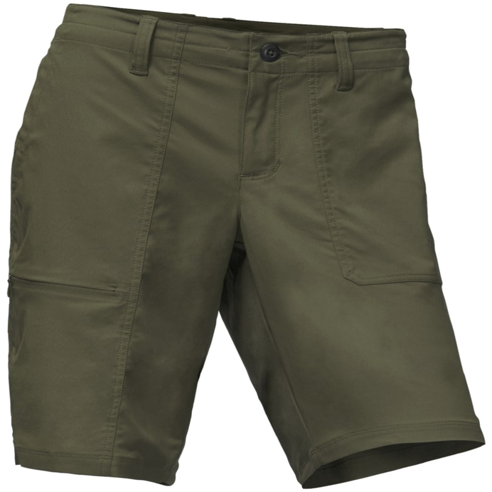THE NORTH FACE Women's Aphrodite Ridge Shorts - 21L-NEW TAUPE GREEN