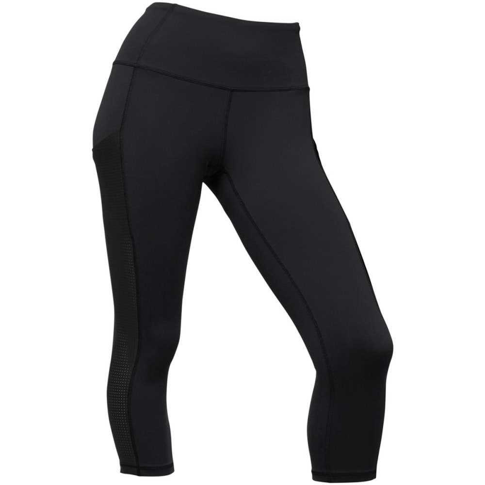 THE NORTH FACE Women's Motivation High-Rise Pocket Crop - JK3-TNF BLACK