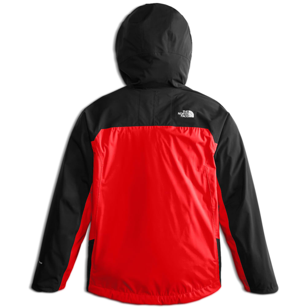 THE NORTH FACE Big Boys' Allproof Stretch Jacket - 15Q-FIERY RED