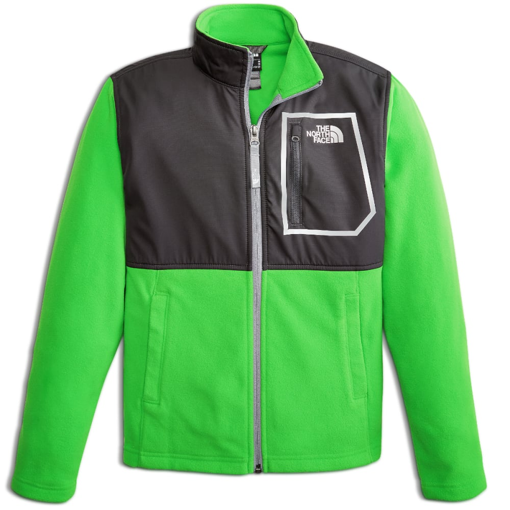 THE NORTH FACE Boys' Glacier Track Jacket - ZBT-CLASSIC GREEN