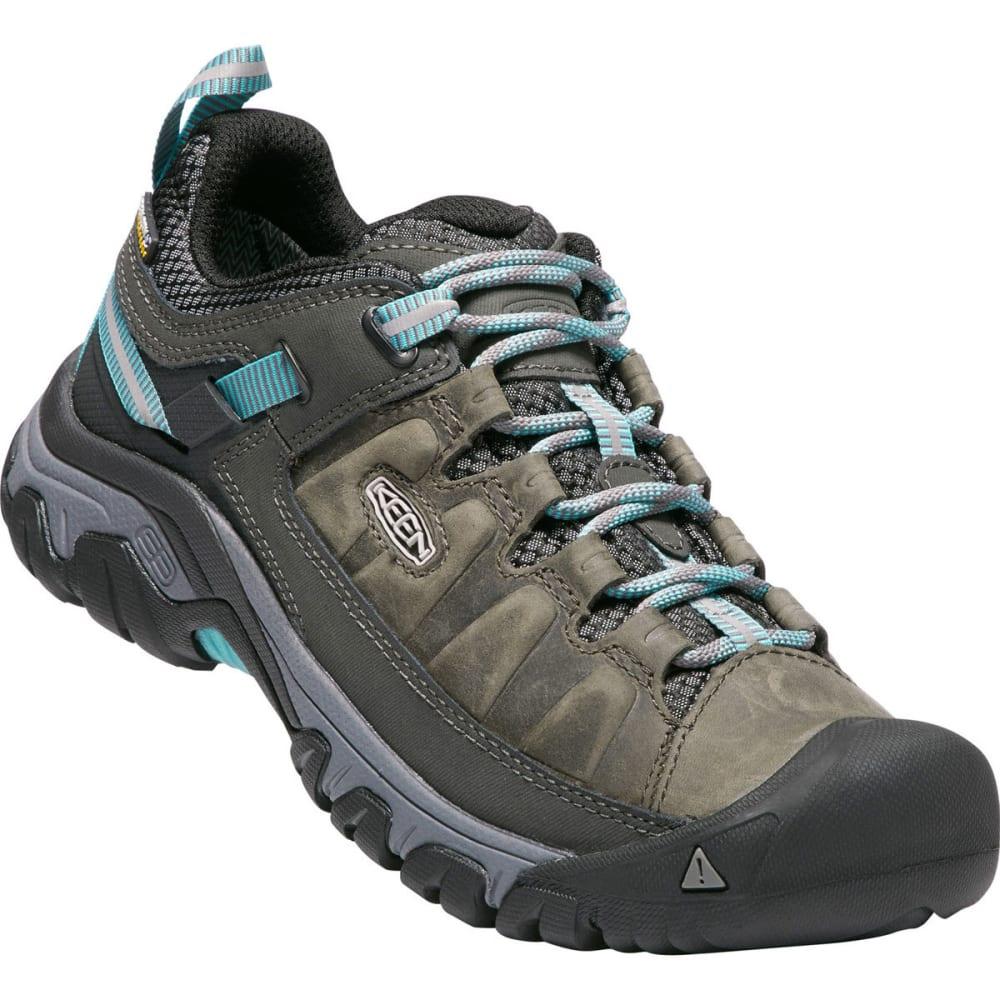 KEEN Women's Targhee III Waterproof Low Hiking Shoes - ALCATRAZ