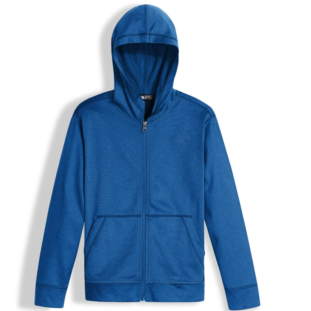 THE NORTH FACE Big Boys' Tech Glacier Full-Zip Hoodie - 1ML-TURKISH SEA HTR