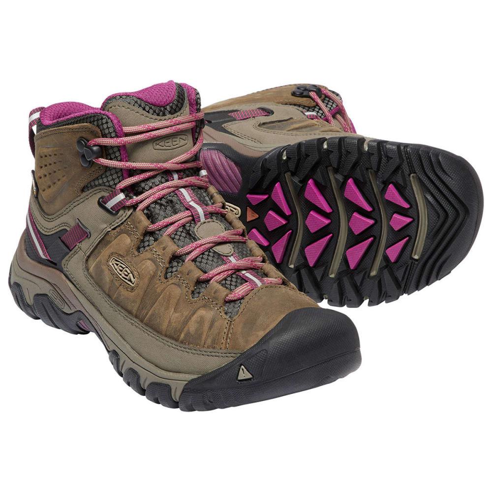 49116f0ceeec KEEN Women  39 s Targhee III Waterproof Mid Hiking Boots - WEISS BOYSENBERRY