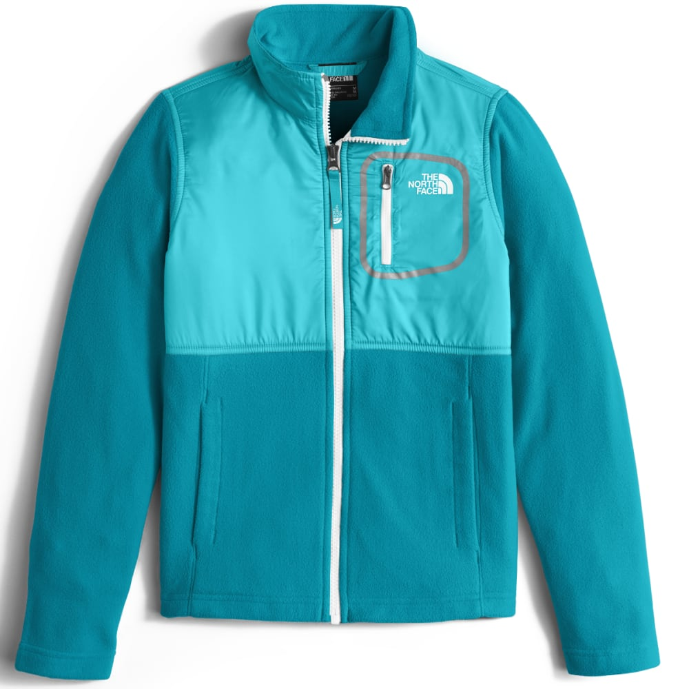 THE NORTH FACE Big Girls' Glacier Track Jacket - UAX-ALGIERS BLUE