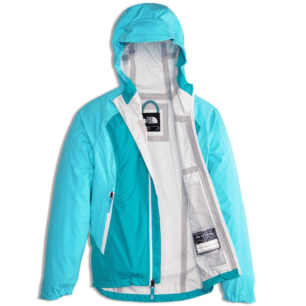 THE NORTH FACE Big Girls' Allproof Stretch Jacket - H1R-BLUE CURACAO