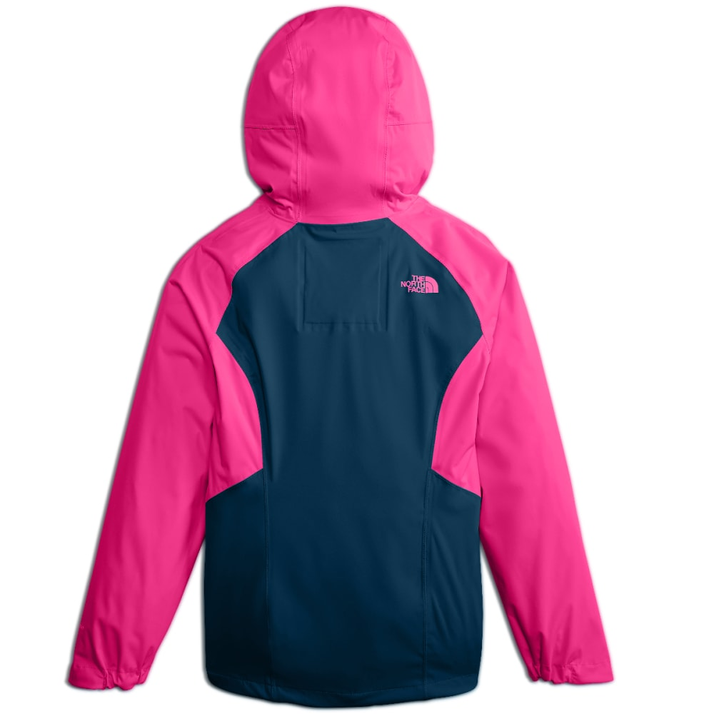 THE NORTH FACE Big Girls' Allproof Stretch Jacket - 79M-PETTICOAT PINK
