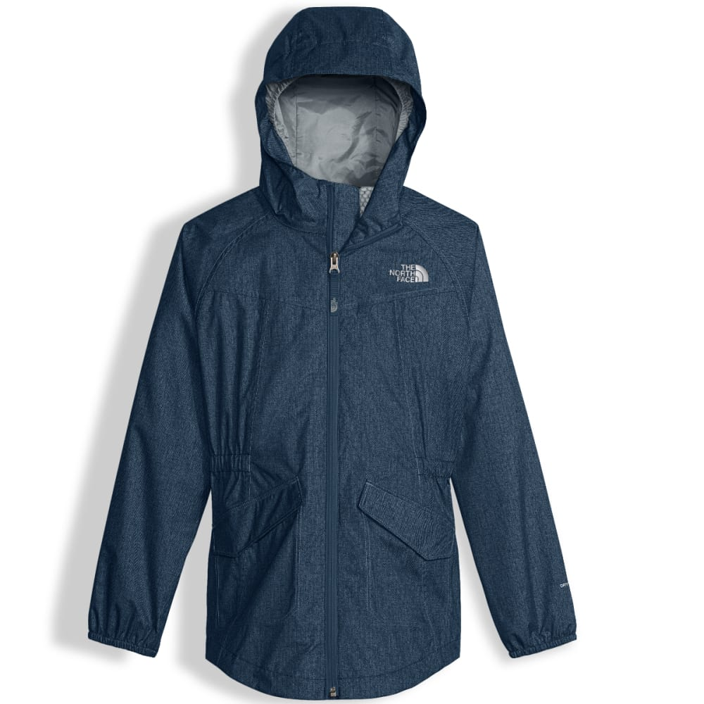 THE NORTH FACE Girls' Sophie Rain Parka - 1PK-BLE WNG TEAL PRN