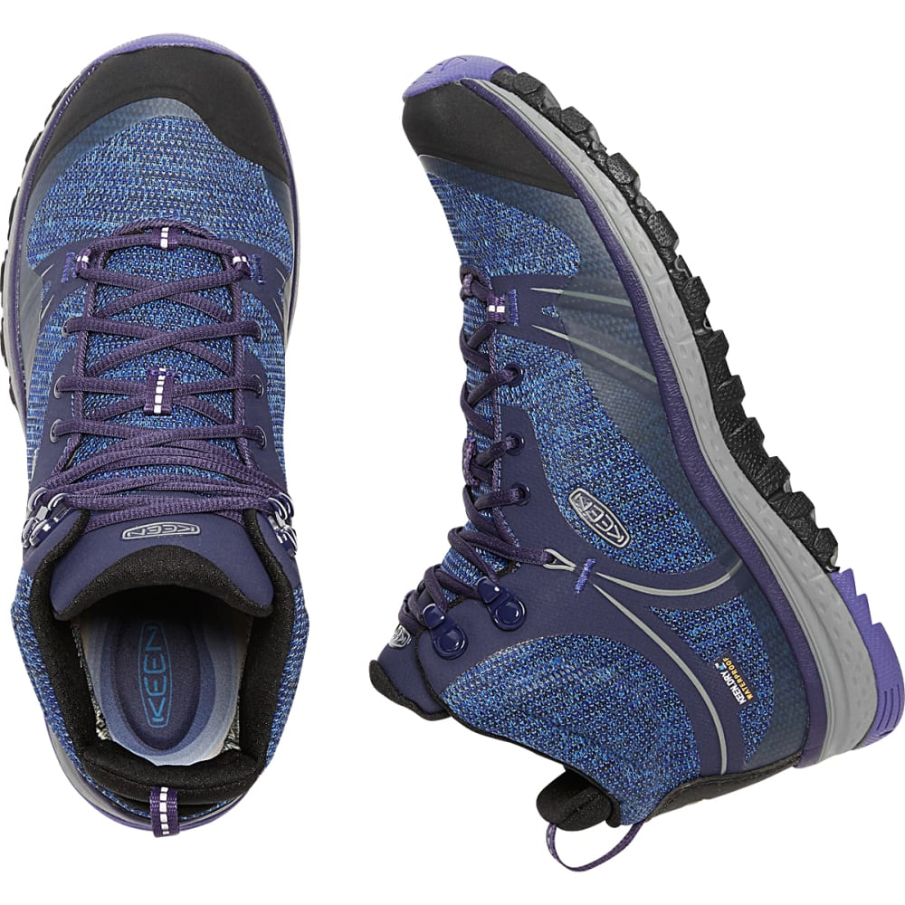 KEEN Women's Terradora Waterproof Mid Hiking Boots - ASTRAL/LIBERTY