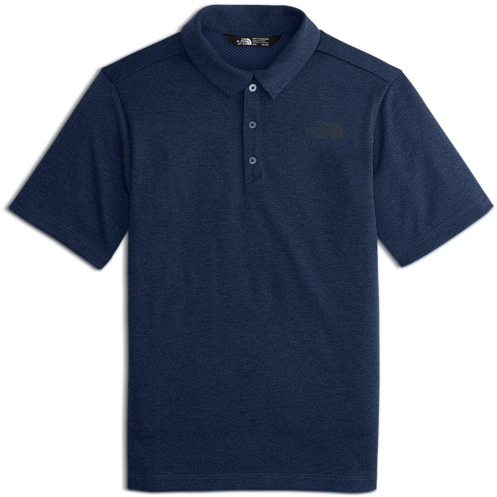 THE NORTH FACE Big Boys' Short-Sleeve Polo Shirt - A9R-COSMIC BLUE HTR