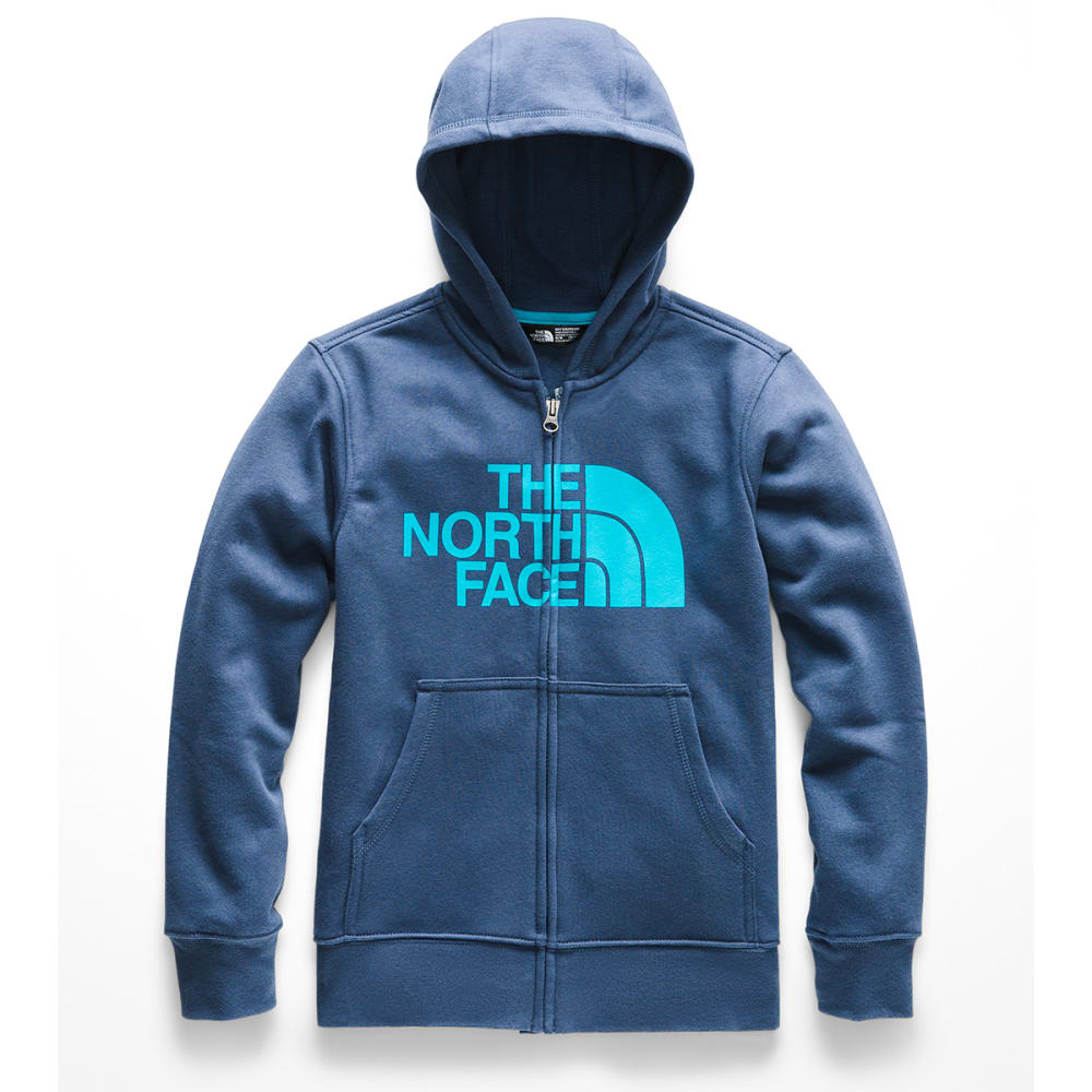THE NORTH FACE Kids' Logowear Full-Zip Hoodie - HDC SHADY BLUE