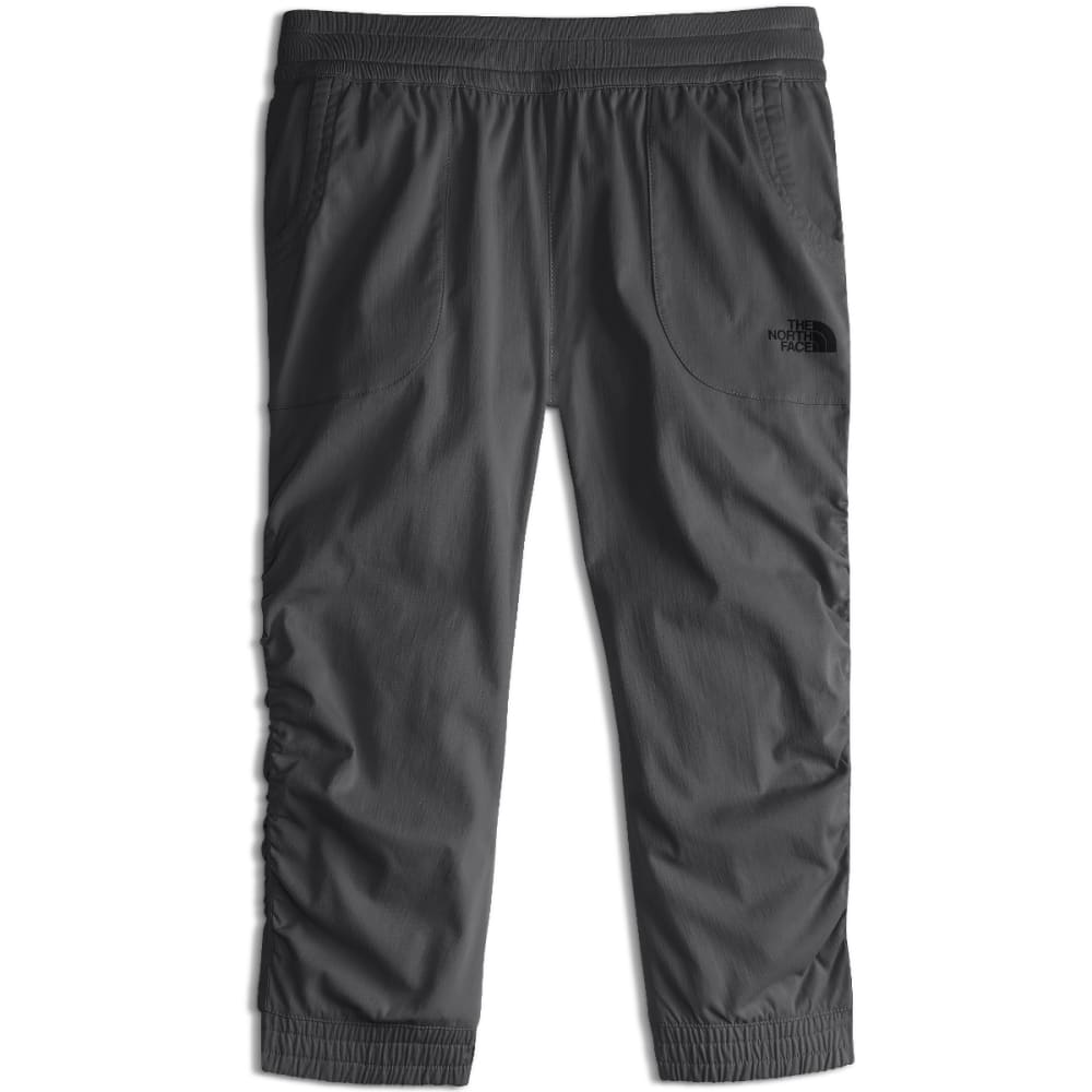 THE NORTH FACE Girls' Aphrodite Capris Hiking Pants - 044-GRAPHITE GREY