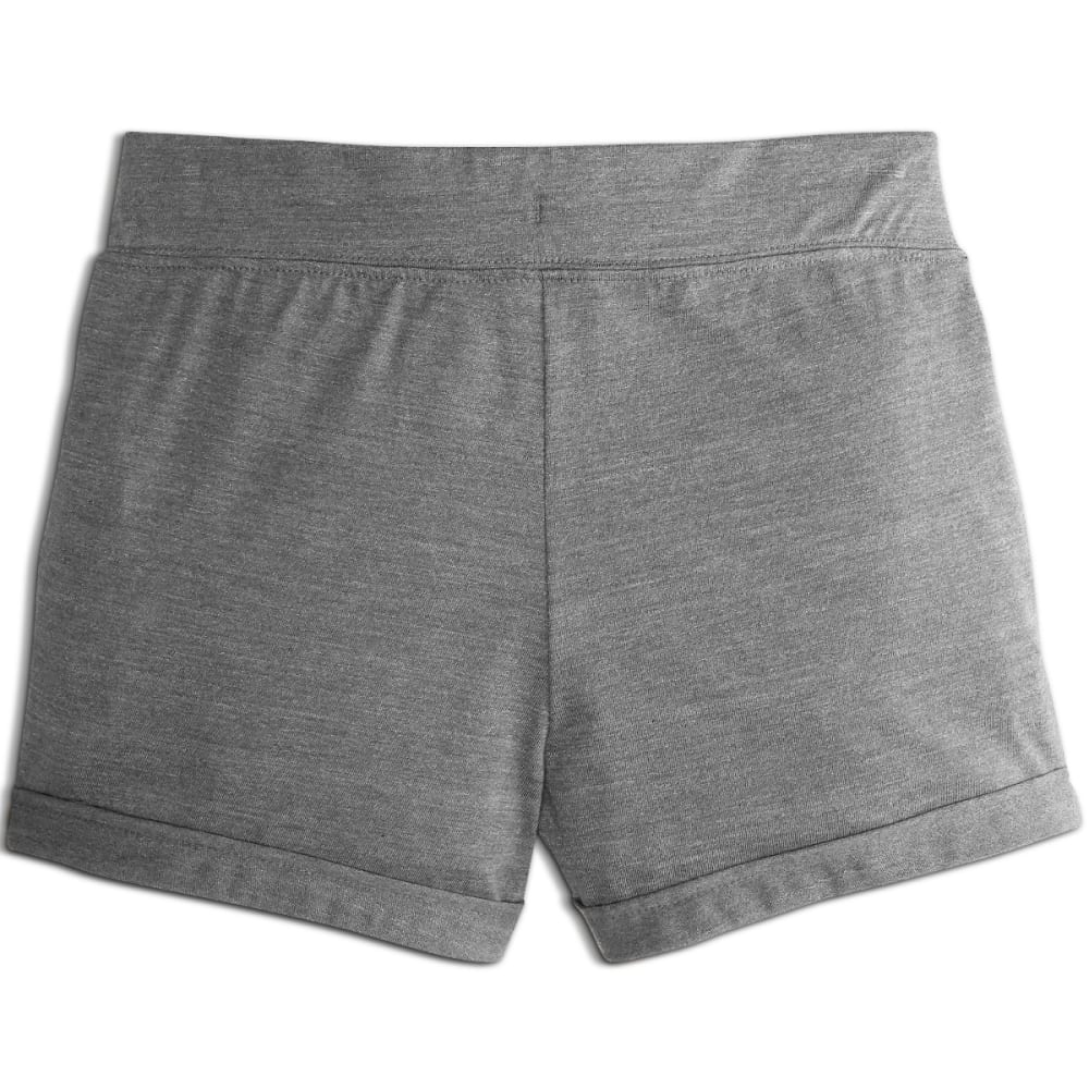 THE NORTH FACE Girls' Tri-Blend Shorts - DYY-TNF MD GRY HTR