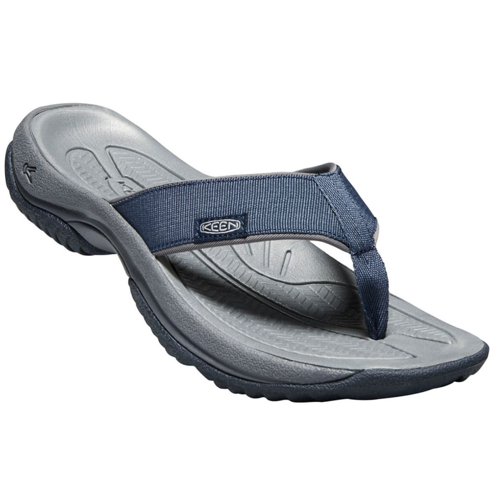KEEN Men's Kona Flip II Sandals - DRESS BLUES