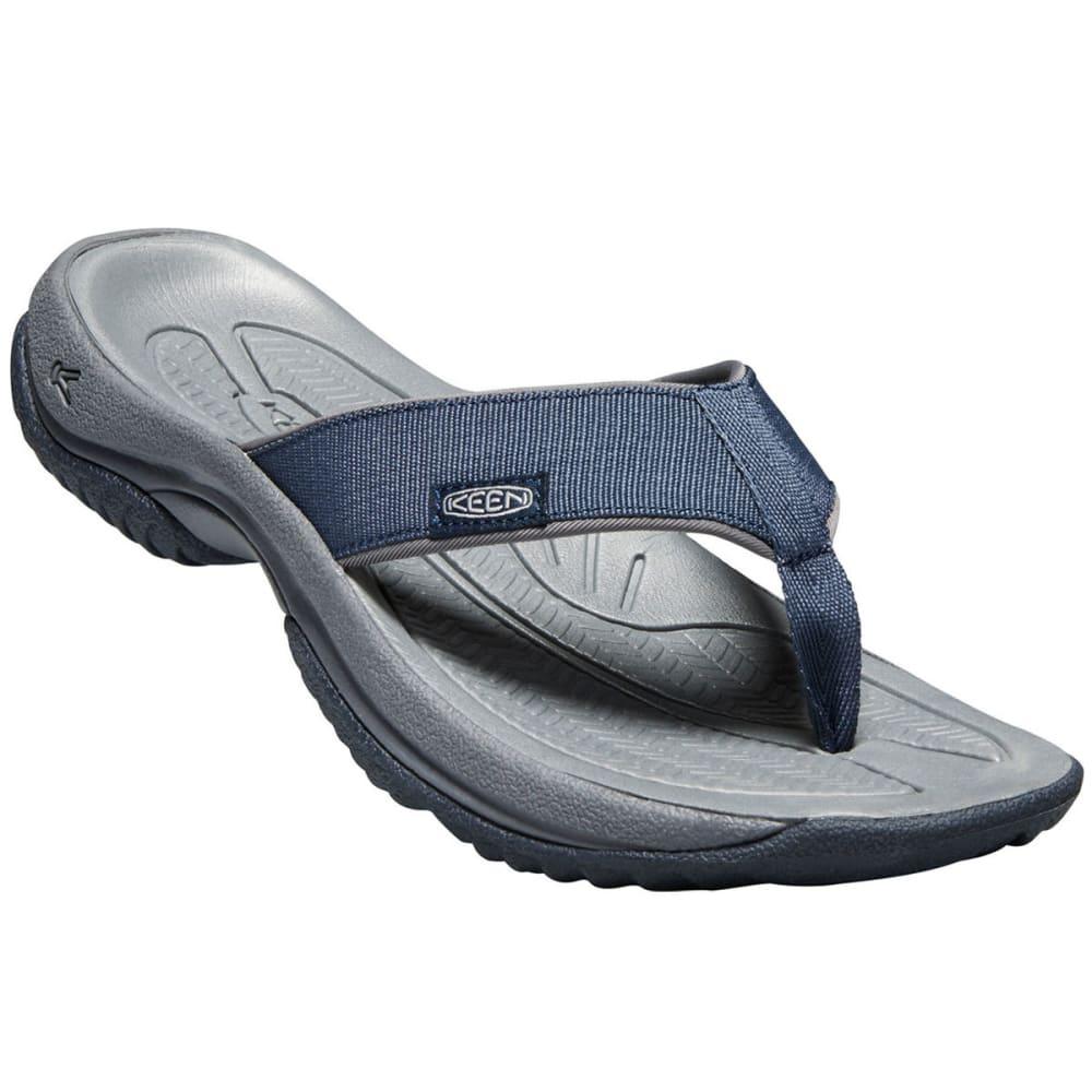 KEEN Men's Kona Flip II Sandals - DRESS BLUES