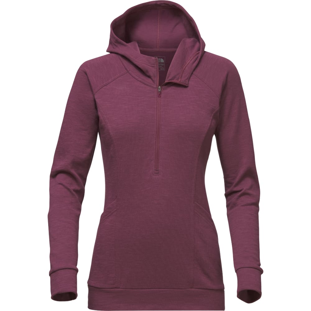 THE NORTH FACE Women's OM ½ Zip Pullover - ZBW-CRUSHED VIOLETS