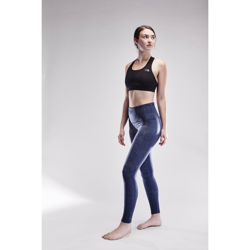 THE NORTH FACE Women's TNF Indigo High-Rise Tight - 5GC-DK INDIGO TEXTUR