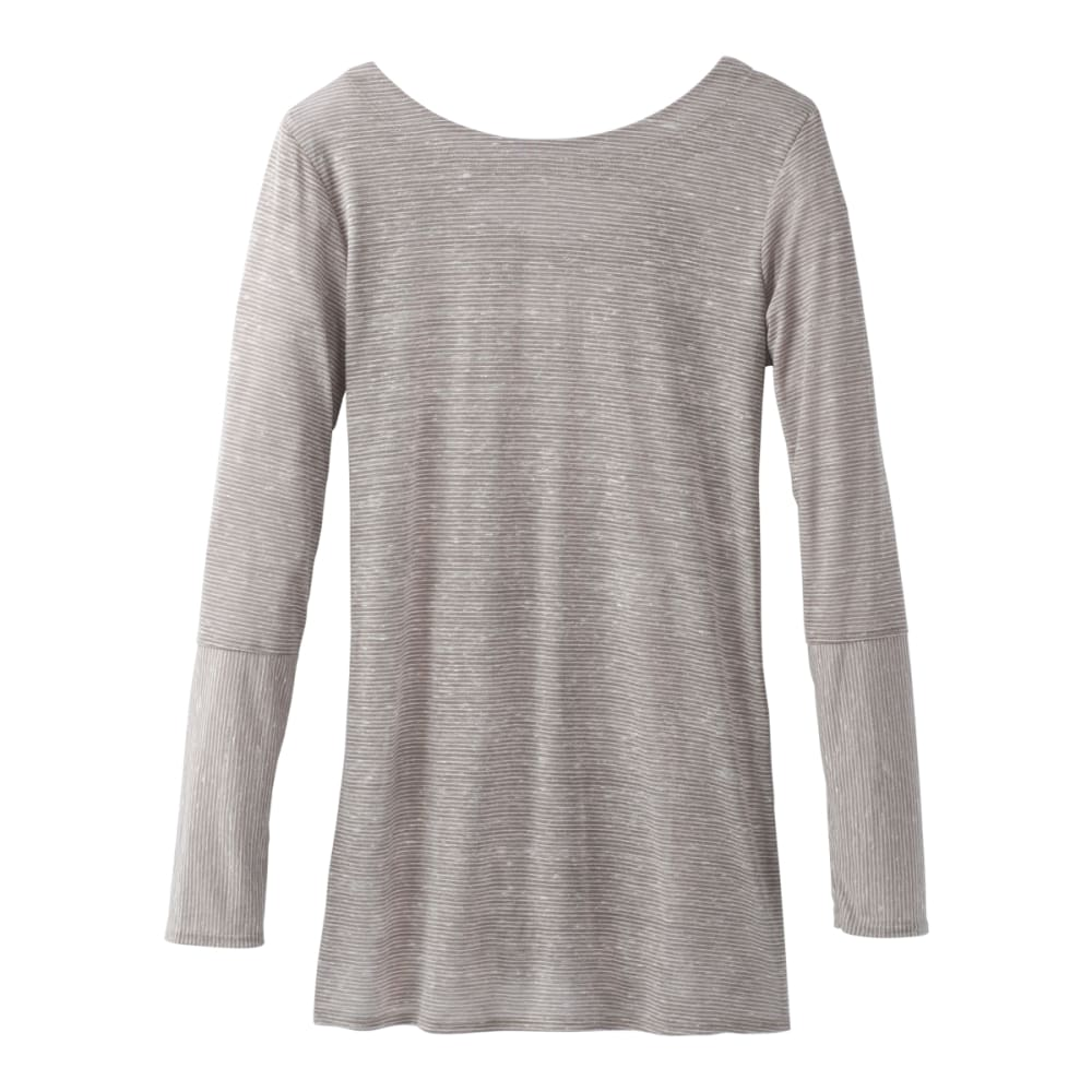 PRANA Women's Esme Long-Sleeve Top - BLACK