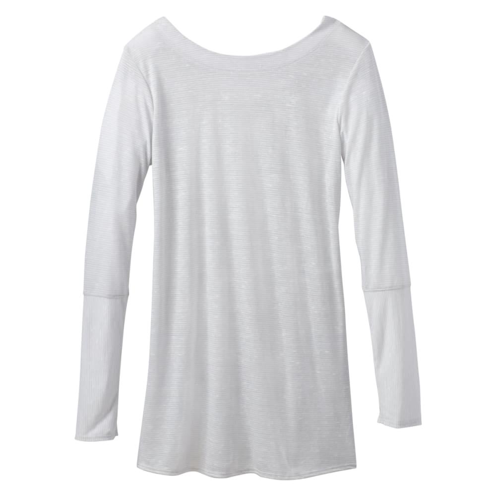 Prana Women's Esme Long-Sleeve Top - Black - Size XL W21180490