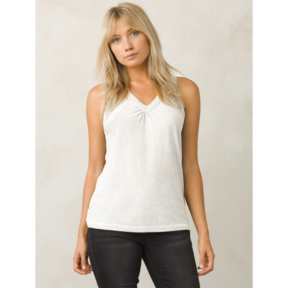 PRANA Women's Kornelie Tank Top - WHITE