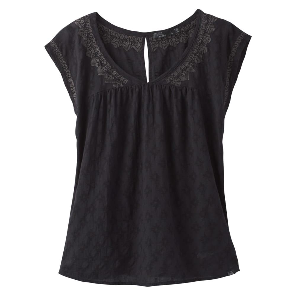 PRANA Women's Blossom Top - BLACK