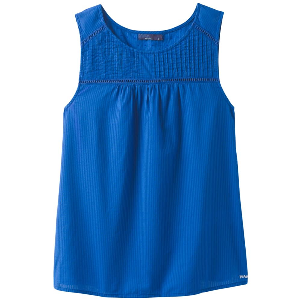 PRANA Women's Thomasina Tank Top - ISLAND BLUE