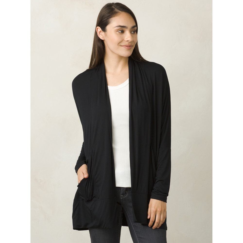 PRANA Women's Foundation Wrap - BLACK